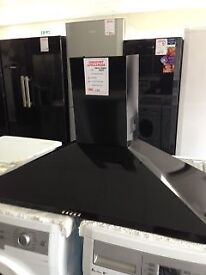 CHIMNEY STYLE COOKER HOOD SAT ONLY £50 12 MTHS GTEE
