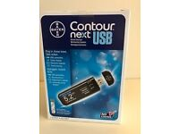CONTOUR®NEXT USB is an easy-to-use meter in a smart, sleek design, New Boxed Unused