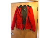 Ladies Red Ski Jacket: UK Size 10