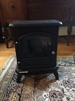 ChimneyFree Electric Stove with Heater