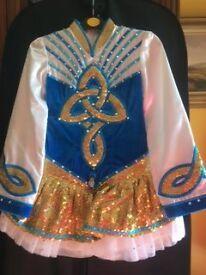 Stunning Irish dancing dress