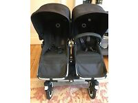 Bugaboo Donkey Duo - Double buggy with extra accesories £750