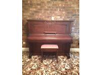 Coronet Piano and stool