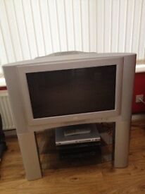 JVC flat screen TV