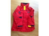 Gill sailing jacket. Men's Size MEDIUM
