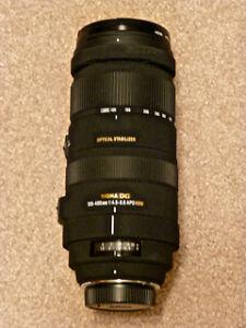 Nikon D90 Digital SLR Camera with Lenses