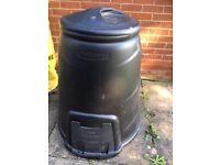 Compost bin - black