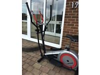 York Spire 2 in 1 Crosstrainer with heart rate sensors