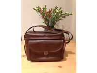 Leather Vintage Camera Bag