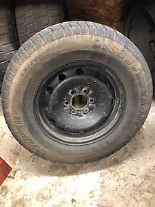 4 Winter Truck Tires 265/70R17 Ford F-150