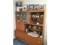 solid wood display unit, REDUCED IN PRICE