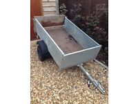 Trailer 5ft x 3ft in very good working order. Complete with working lights and spare wheel.