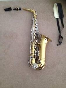 King 613 Alto Saxophone. Williamstown Hobsons Bay Area Preview