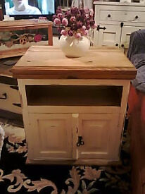 pine tv unit/sideboard/cupboard