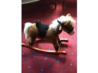 Small sit on rocking horse