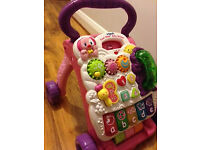 Vtech Baby Walker Pink, great condition, fully working