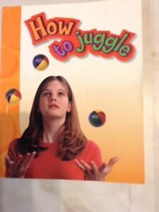 'How to Juggle' -- instruction book for children