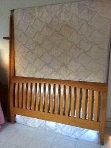 Queen size slat bed Ashfield Ashfield Area Preview