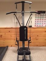 Techrod Pulley home exercise machine - Not a bowflex though!