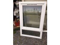 White UPVC Window 980 x 1510