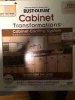 Rustoleum cabinet Transformation kits