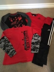 BOY'S DC, HURLEY, QUIKSILVER AND ADIDAS