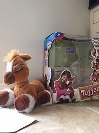 Toffee Interactive pony by Emotion Pets