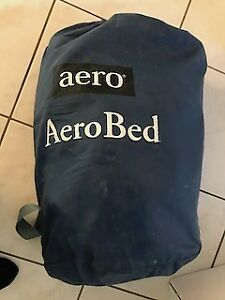 Double Size Aerobed - Grey/Blue