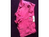 Pink Hollister Shorts