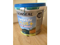 Ronseal FenceLife 9L approx - Colour: Teal