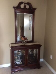 Storage Cabinet with mirror