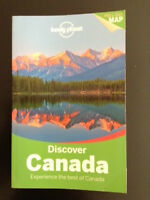 """Travel Guide/guide de voyage Lonely Planet """"Discover Canada"""""""