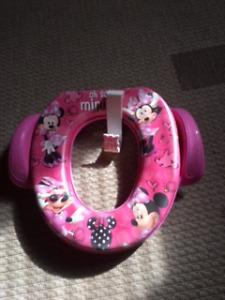 Siège de toilette pour entraînement jamais utilisé Minnie Mouse