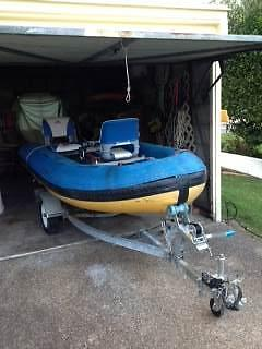 NAIAD Rigid Inflatable boat Jacobs Well Gold Coast North Preview