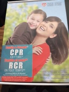 CPR Anytime Family and Friends kits