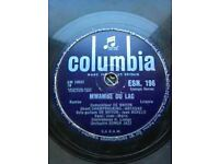 African Columbia, De Wayon Esengo series, 78 rpm shellac, 1960, Made in England.