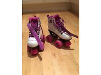 SFR Vision Purple quad roller skates size 11J