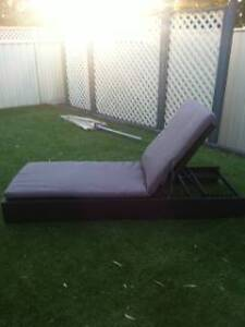 Rattan Sun Lounger Brand New Greenwith Tea Tree Gully Area Preview