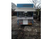 Catering trailer fully fitted everything is gas operated, full stainless steal inside. You
