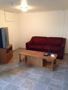 Basement suite for rent for June