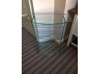 Greenapple Pure Glass Furniture - CD Rack