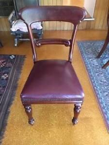Mahogany Chairs Spade Back Narrabundah South Canberra Preview