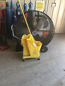 industrial mop and pail