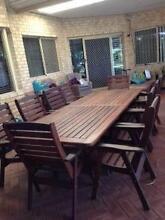 10 piece outdoor dining suite Ballajura Swan Area Preview