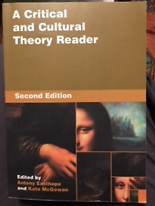 Critical and Cultural Theory Reader