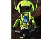 Tricycle; 3 in 1, Baby bike with parental control