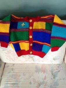 CHILDREN HAND KNITTED SWEATERS