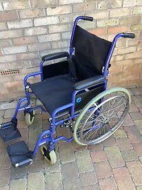 Very good condition Wheelchair