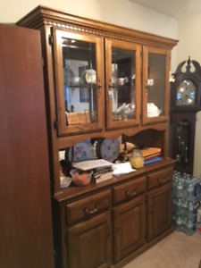 Buffet, Hutch and Table