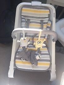 Baba Bing Rockout bouncer chair for sale
